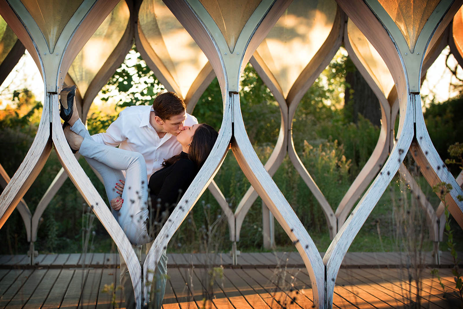 Honeycomb Lincoln Park Engagement Photography