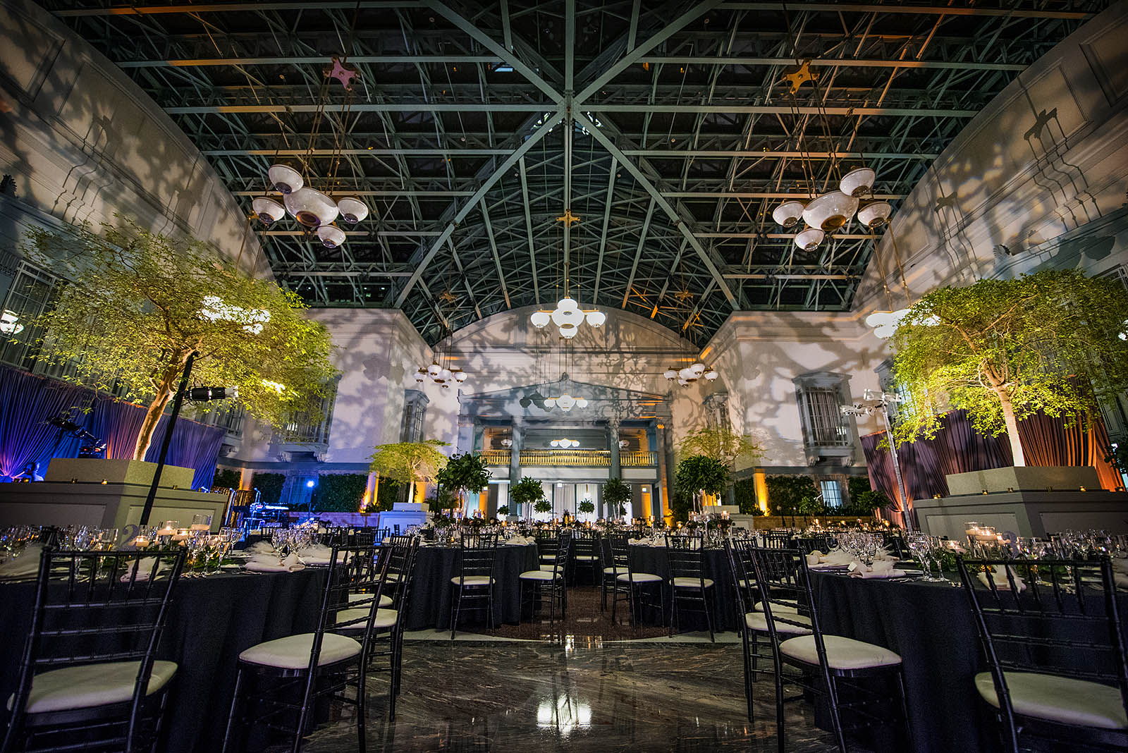 Harold Washington Library Chicago Wedding Reception