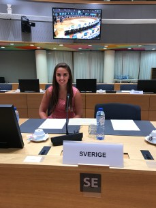 Ali will be representing Sweden in the EU at our first Model UN conference next year.