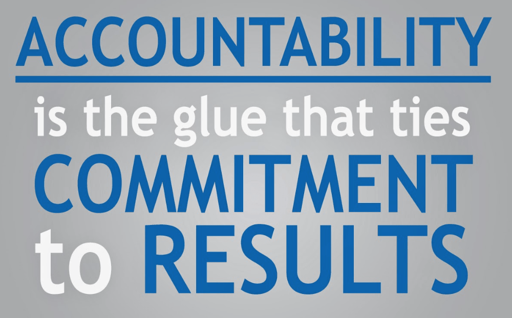 Image result for accountability""