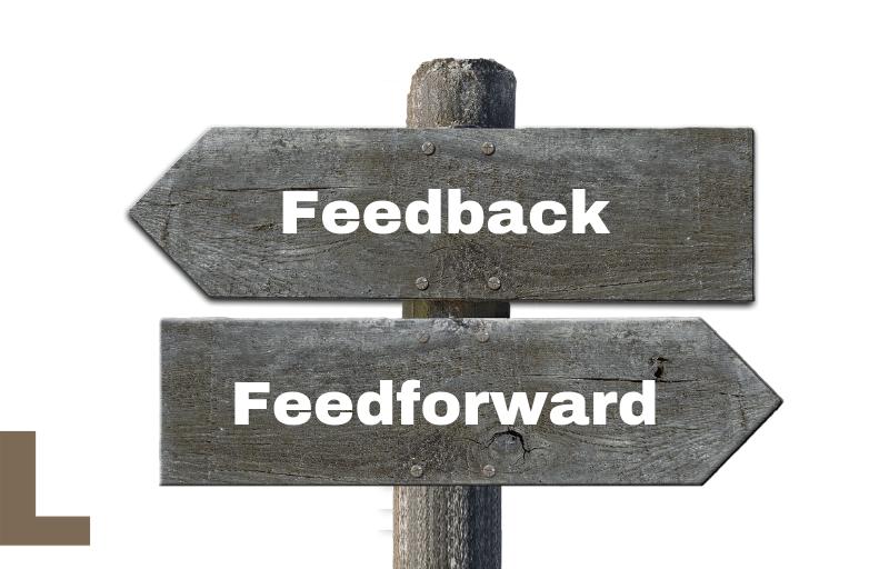 feedback, feedforward