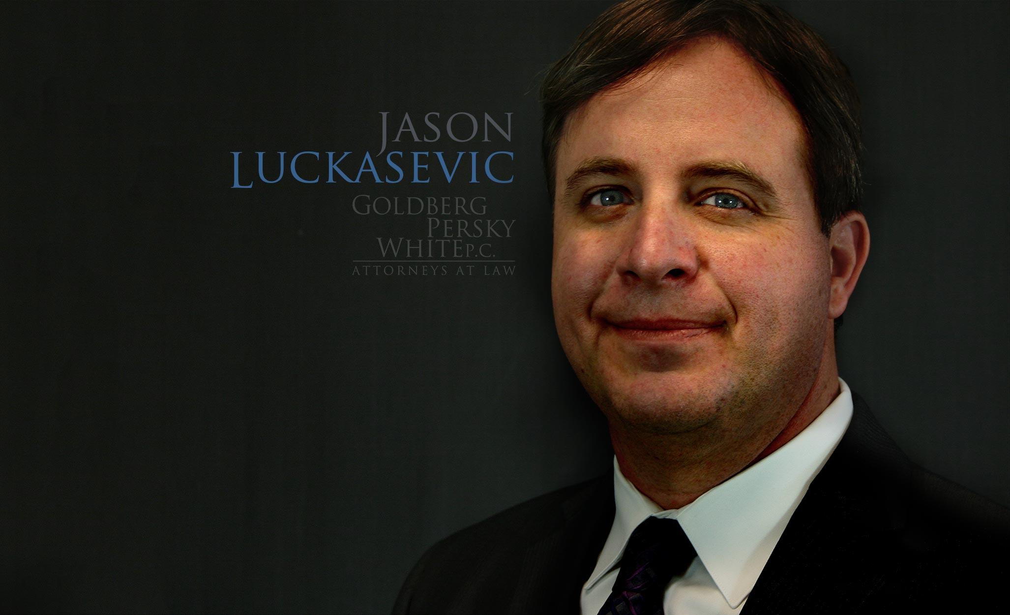 Jason Luckasevic, Attorney at Law.