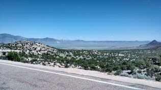 View from Major's Junction, NV