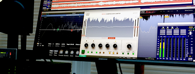 Jason Mitchell Mastering. Screen, D2A, Word Clock, Plugins, soundBlade