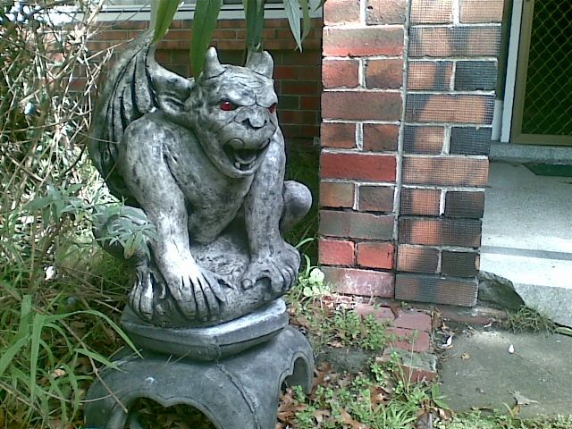 gargoyle in melbourne