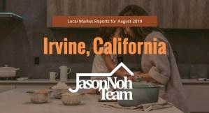 2019년 8월 캘리포니아 얼바인 부동산 시장 분석, Irvine Real Estate Market Reports for August, 2019