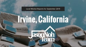 얼바인 부동산 시장 분석, Irvine CA Real Estate Market Reports for September, 2019
