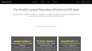 DNS Trails