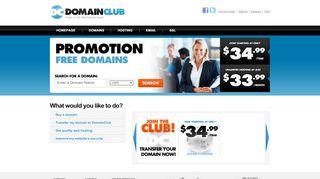 Domain Club