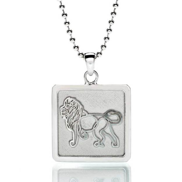 'Lion' Sterling Silver Frame