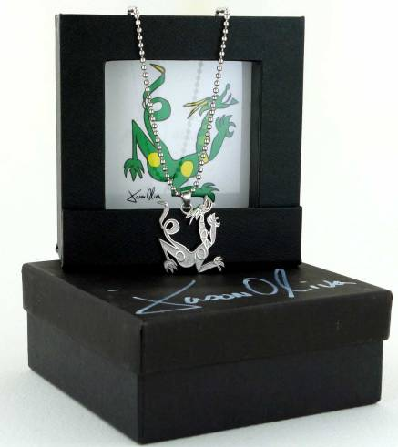 Dragon Jewelry Sterling silver necklace by Jason Oliva