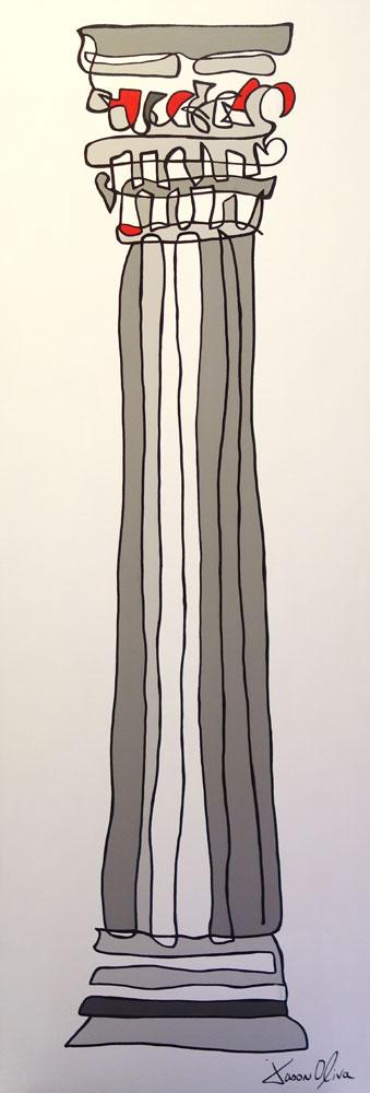 Painting Column Jason Oliva 2013