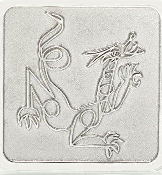 Dragon Sterling silver pendant jason Oliva