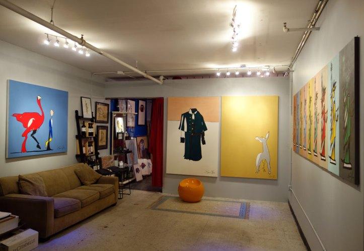 Studio visit Jason Oliva