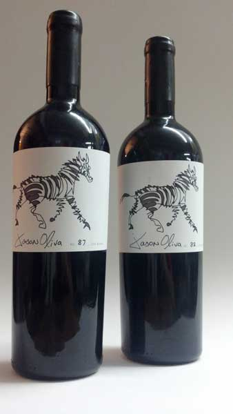 Jason Oliva wine collection Stripey Horse 2008