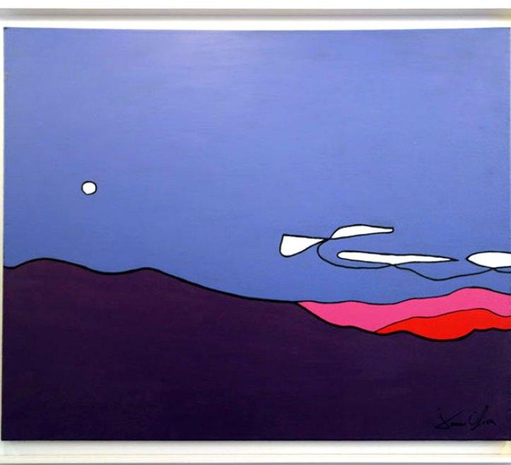 Jason-Oliva-Landscape-with-moon-painting