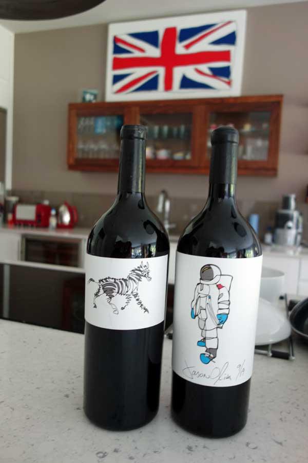 Jason Oliva Wine Astripey Horse Astronaut Stellenbosch