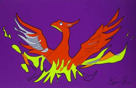 Phoenix 2015 Sold painting by Jason Oliva