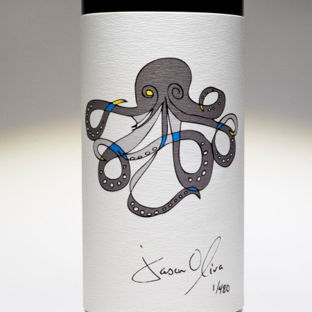 Jason Oliva wine 2018 release Octopus 2010 Stellenbosch South Africa