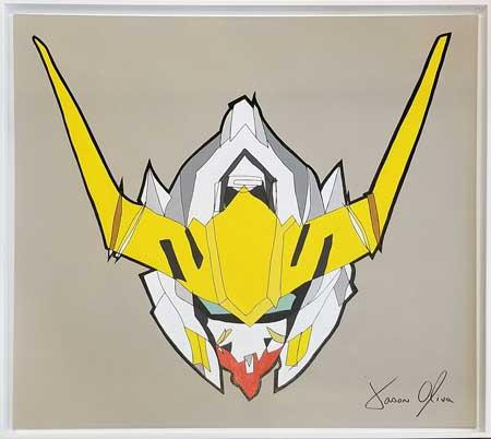 Gundam Barbatos Lupus Rex 2019 Painting by Jason Oliva