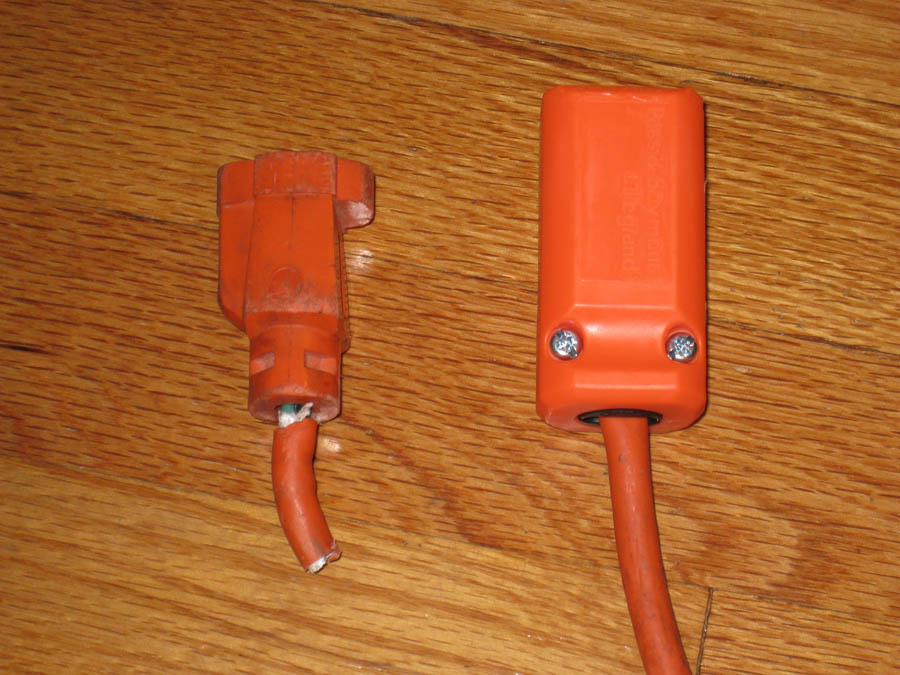 How To Repair An Extension Or Power Cord