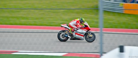 Cal Crutchlow on the Open Ducati