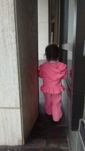 Lila finds a secret passage.