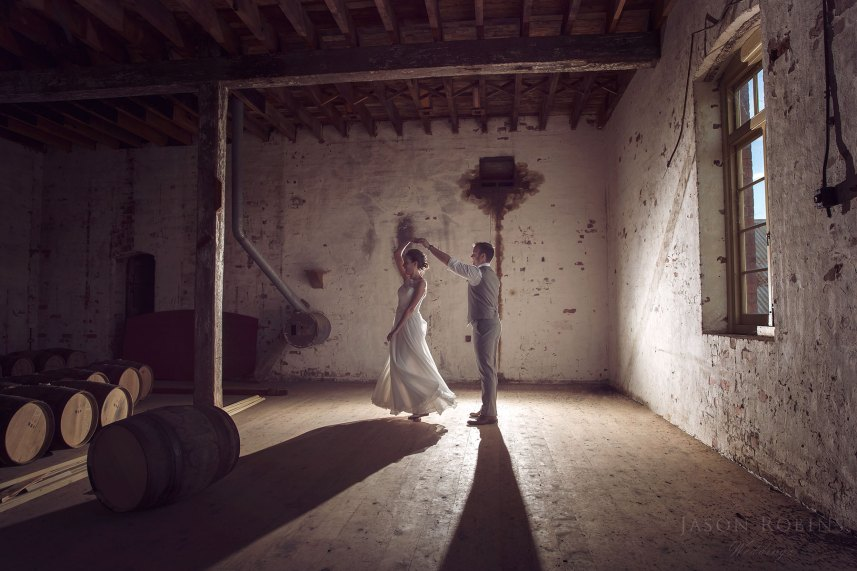 Wedding Photography, Victoria - Corowa Whisky and Chocolate Factory by Jason Robins Photography