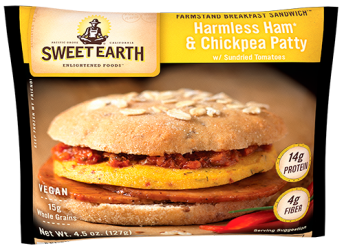 Sweet Earth Harmless Ham and Chickpea Patty