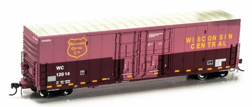 Athearn Genesis HO WC 50′ Box Car Faded G63917