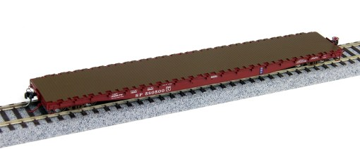 Wheels of Time HO Southern Pacific 62′ Plain Deck Car 40013