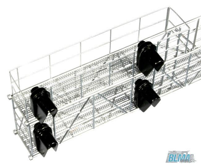 BLMA Models HO Scale Modern Cantilever RH Signal Bridge