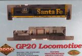 Proto 2000 HO Scale Santa Fe GP20 Locomotive # 1107 W/Box 8008