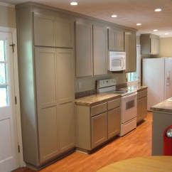Pictures Of Custom Kitchen Cabinets Nice Tables After – Renovation 1970′s Galley | Carey's ...