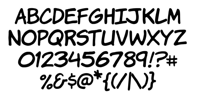 7 Awesome Free Comic Lettering Fonts For Commercial Use