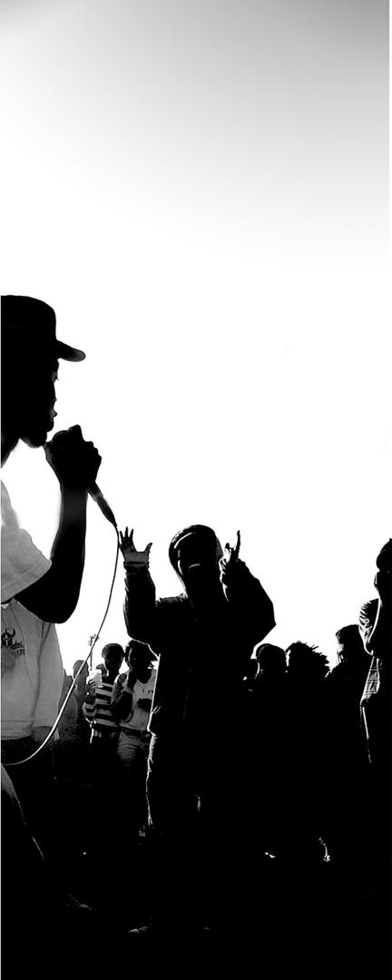 RAPPERS IN GUGULETHU