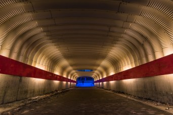 TUNNEL IN NACKA.