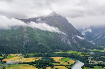 VALLEY IN NORWAY.