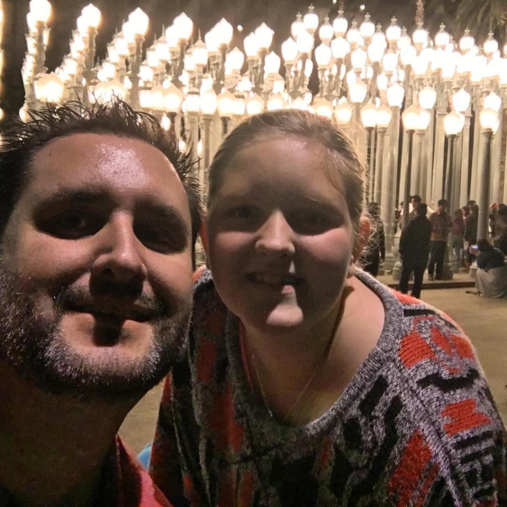 Jess and I at urban Lights 1