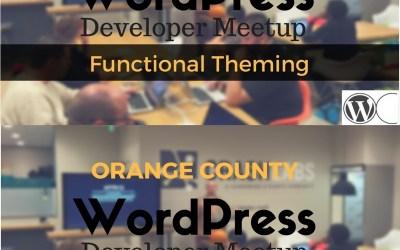Videos from January 2017 OC WordPress developer meetup