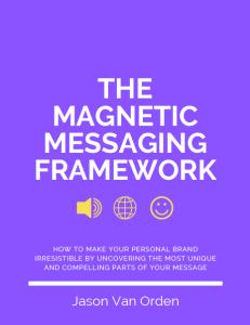 Download my Personal Branding Framework