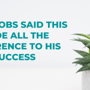 Wherever you're in your career and business, I invite you to remember Steve Jobs' quote. Remember, you are in the process of discovering the dots as you go.