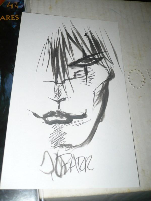 Todd McFarlane Comic Book Sketches