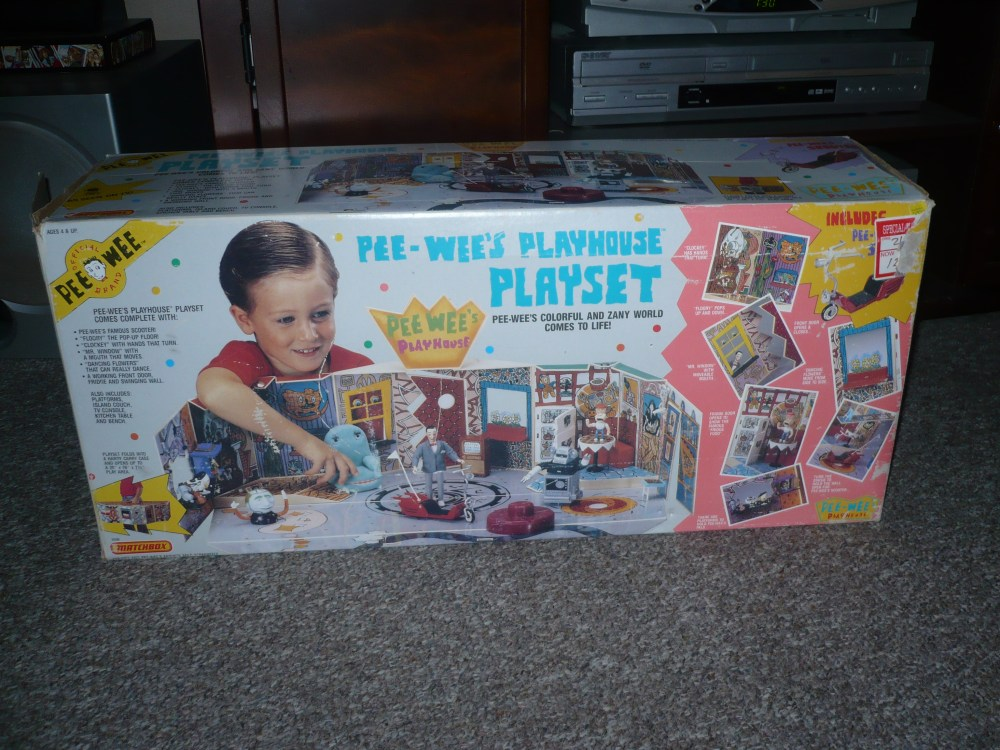 Pee-Wee's Playhouse Playset (1/6)