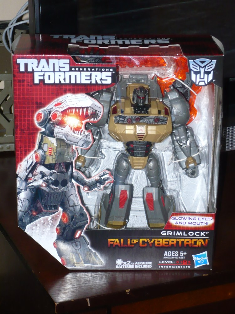 Transformers Generations : Fall of Cybertron - Grimlock (1/6)