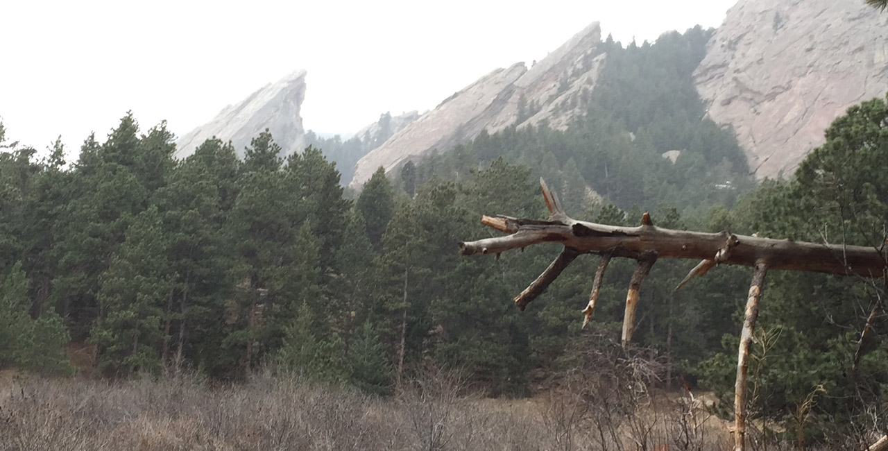 The Flatirons - Boulder, CO