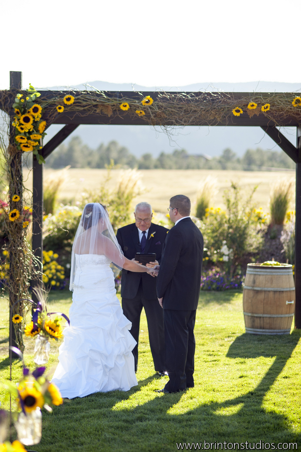 Sunflowers Burlap  Camels a Fun Rustic Farm Wedding at Crooked Willow  JA Special Events