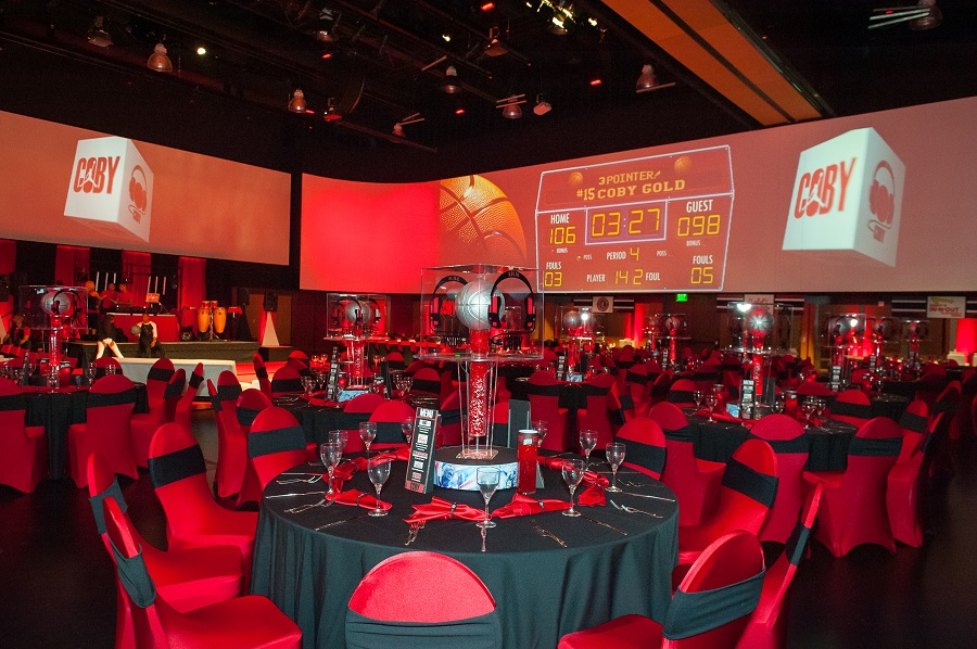 Basketball Bar Mitzvah at Infinity Park  JA Special Events