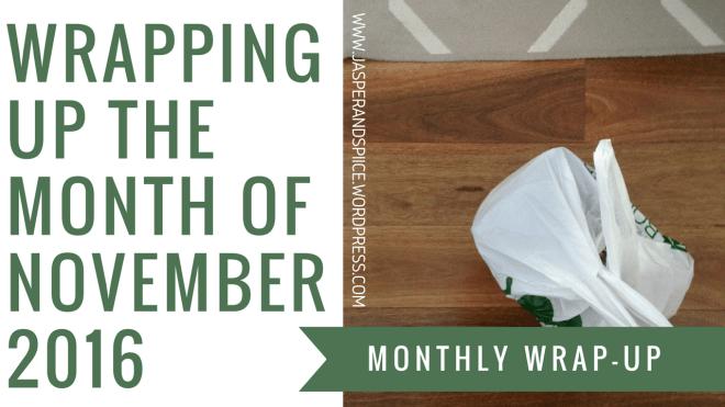 november wrap up header - November Wrap-Up