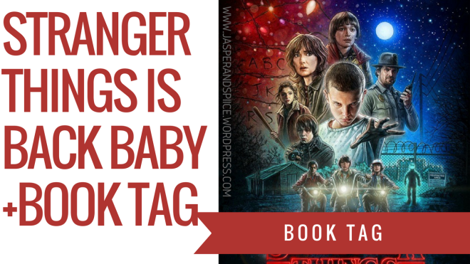 stranger things book tag blog header - Stranger Things Is Back Baby! (+ book tag)
